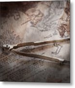 Boat - Sailor - We Are Ready To Sail  Metal Print by Mike Savad