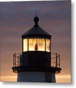 Brant Point Lanthorn - Nantucket Metal Print by Henry Krauzyk