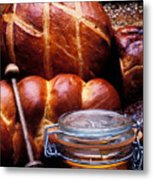 Bread And Honey Metal Print by Garry Gay