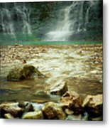 Break Of Silence Metal Print by Iris Greenwell