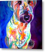 Briard - Albert Metal Print by Alicia VanNoy Call