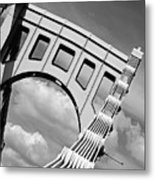 Bridge Top Pittsburgh Pa Metal Print by Kristen Vota
