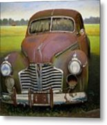 Buick Eight Metal Print by Doug Strickland