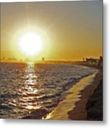 California Sunset Metal Print by Ernie Echols
