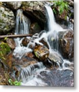 Calypso Cascades White Water Metal Print by Brent Parks