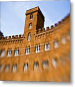 Campo Of Siena Tuscany Italy Metal Print by Marilyn Hunt