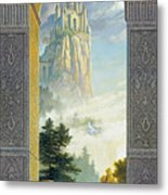 Castles In The Sky Metal Print by Greg Olsen