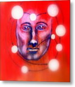 Cathartic Reaction Metal Print by Paulo Zerbato