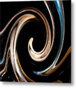 Chocolate Lick Metal Print by Dana Kern