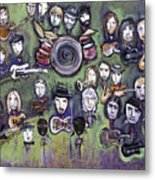 Chris Daniels And Friends Metal Print by Laurie Maves ART