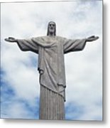 Christ The Redeemer Metal Print by Paul Landowski