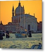 Church Of The Redentore In Venice Metal Print by Michael Henderson
