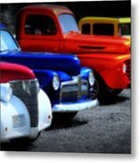 Classics Metal Print by Perry Webster