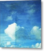 Cloud Painting Metal Print by Setsiri Silapasuwanchai