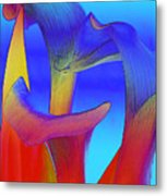 Colorful Crowd Metal Print by Michelle Wiarda