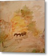 Country Life Metal Print by Paula Maybery