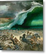 Crossing The Red Sea Metal Print by Anonymous