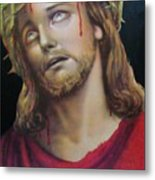 Crown Of Christ Metal Print by Unique Consignment