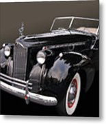 Darrin Cabriolet Metal Print by Bill Dutting