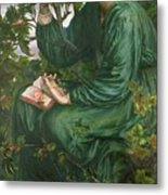 Day Dream Metal Print by Dante Charles Gabriel Rossetti