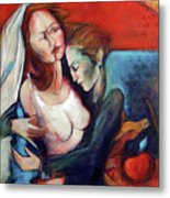Dazzled And Damned Metal Print by Jacque Hudson