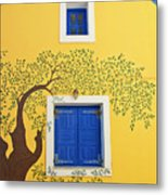 Decorated House Metal Print by Meirion Matthias