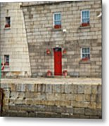 Detail Of Howth Lighthouse Metal Print by Gabriela Insuratelu