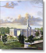 Detroit Michigan Temple Metal Print by Jeff Brimley