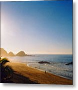 Early Morning In Zipolite 2 Metal Print by Lyle Crump