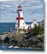 East Quoddy Lighthouse Metal Print by John Greim