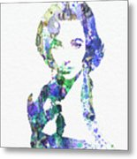 Elithabeth Taylor Metal Print by Naxart Studio