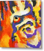 Eye Of The Tiger Metal Print by Stephen Anderson