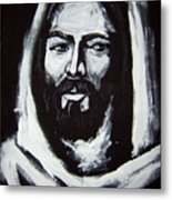 Face Of Christ Ccsa Metal Print by Larry Cole
