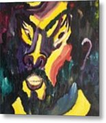Faces Metal Print by Suzanne  Marie Leclair