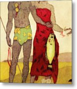 Fisherman Metal Print by Hawaiian Legacy Archives - Printscapes