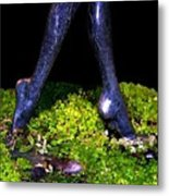 Fountain Sculpture Metal Print by Will Borden