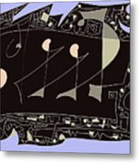 Galley Slaves Metal Print by Valerie Benedetti