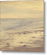 Galveston Island Sunset Seascape Photo Metal Print by Svetlana Novikova