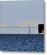 Gateway To Tampa Bay Metal Print by David Lee Thompson