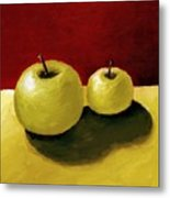 Granny Smith Apples Metal Print by Michelle Calkins
