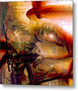 Gravity Of Love Metal Print by Linda Sannuti