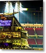 Great American Ballpark Metal Print by Keith Allen