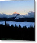 Heaven's Peak Metal Print by Dave Hampton Photography