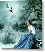 If Only I Had Wings Metal Print by Julie L Hoddinott