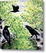 Imparting Wisdom Metal Print by Linda Marcille