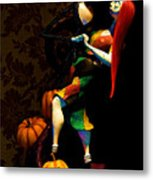 Jack And Sally Metal Print by Thanh Thuy Nguyen