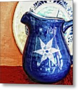 Jug Metal Print by Charuhas Images