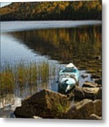 Kayaking In Acadia Metal Print by Alexander Mendoza