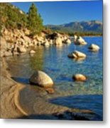 Lake Tahoe Tranquility Metal Print by Scott McGuire
