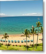 Lanai And Molokai Metal Print by Jim Chamberlain